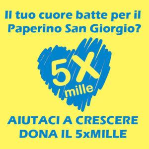 Dona il 5xMille al Paperino San Giorgio