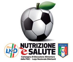Logo Nutrizione è Salute by FIGC-LND